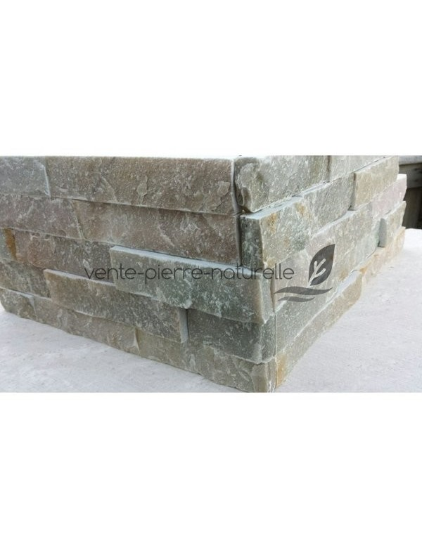 Parement pierre d 39 angle stone light en pierre naturelle - Parement d angle exterieur ...